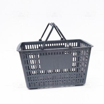购物篮(塑料提手灰色)