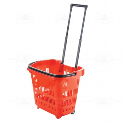 Trolley handle shopping basket YCY6602
