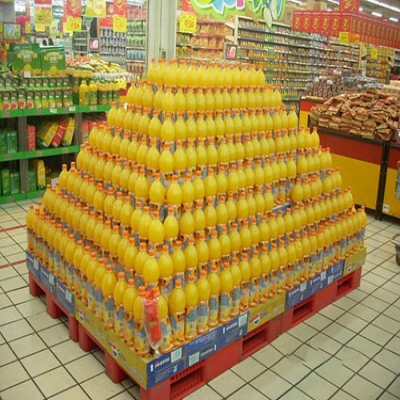 How to put the supermarket stack? What goods are suitable for stack promotion?