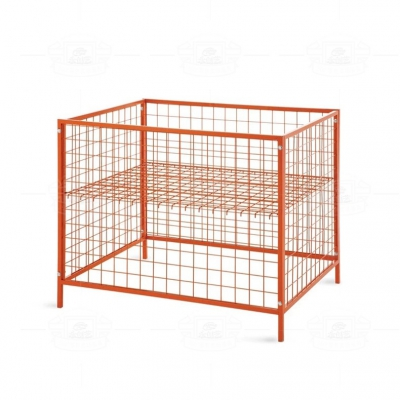 Spray plastic disassembly storage cage (orange) W008