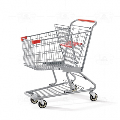 Tubular shopping cart YCY-G100