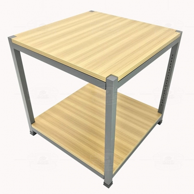 Steel and wood promotion table 4 (stack)