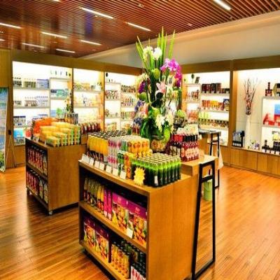 木制超市货架有没有必要固定呢?