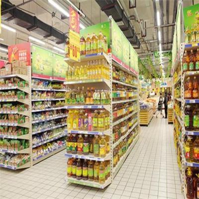 超市端头货架的优势