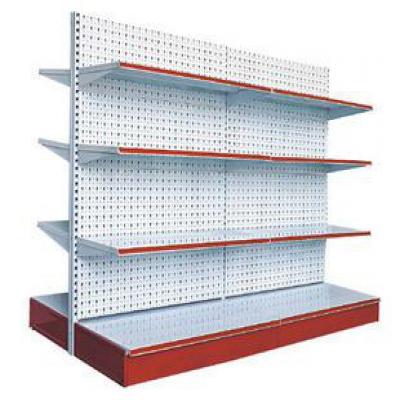 几种比较常见的超市货架背板样式?