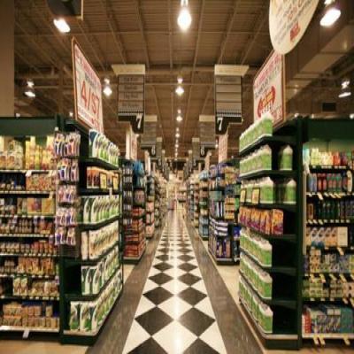 超市货架摆放图片的作用
