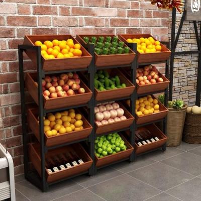 水果店货架的陈列优势