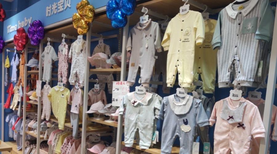 母婴店货架